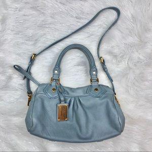 Marc Jacobs Blue Leather Shoulder Bag